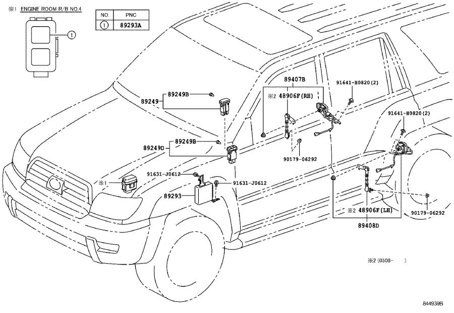 Toyota 4runner Relay  Relay Assembly
